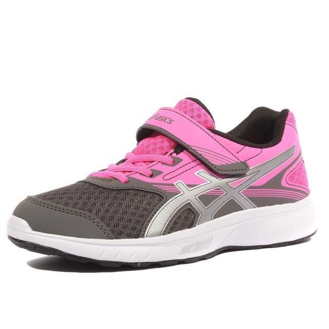 Asics Running Chaussures Gris Ps Rose 30 Stromer Fille Pas RA5L3j4q