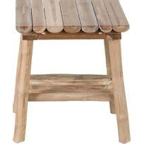 D'appoint Table En D'appoint Table Table En Teck Refuge Refuge Teck pjLSVqzGUM