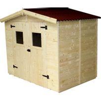 HABRITA - OTTAWA 504 - Abri de jardin en bois - 5,04 m² - 16mm