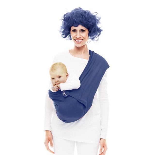 8edc88daf9b Wallaboo Baby Couverture Connection- Bleu foncé - pas cher Achat   Vente  Porte-bébés - RueDuCommerce