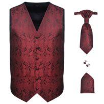 549baf76da GÉNÉRIQUE - Icaverne - Costumes et tailleurs Contemporain Set de gilet de mariage  Homme Paisley Taille