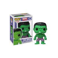 Funko - Marvel Comics Pop! Vinyl Bobble Head Hulk 10 cm