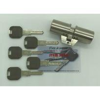 Divers - Cylindre adaptable pour monobloc Fichet 41x41mm 5 clés