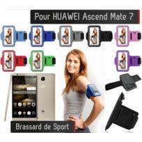 Shot - Brassard Sport Huawei Ascend Mate 7 Housse Etui Coque VIOLET