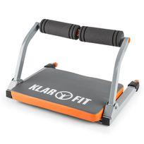 Klarfit - Abhatch Ab Core Trainer Appareil de musculation pour abdominaux - gris/o