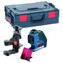 Bosch - Laser Ligne Gll 3-80 P + Support Bm1 Plus Coffret L-boxx - 0601063309