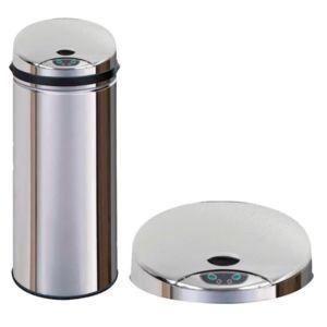 Poubelle sensor inox pas cher achat vente poubelle de for Poubelle inox cuisine