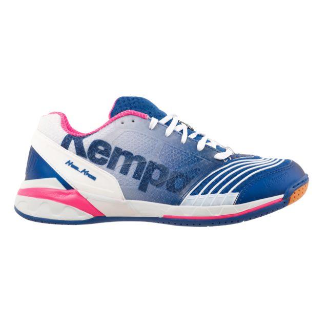 Kempa Chaussures Handball Attack One Femme BleuRoseBlanc