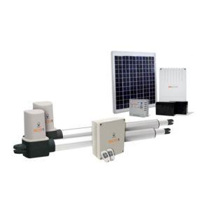 scs sentinel motorisation portail battant solaire scs. Black Bedroom Furniture Sets. Home Design Ideas