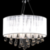 Rocambolesk - Superbe Lustre moderne plafonnier 3 feux 85 pampilles cristal Neuf