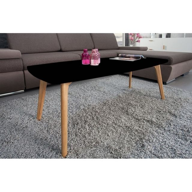 beaux meubles pas chers table basse noire 4 pieds ch ne pas cher achat vente tables basses. Black Bedroom Furniture Sets. Home Design Ideas