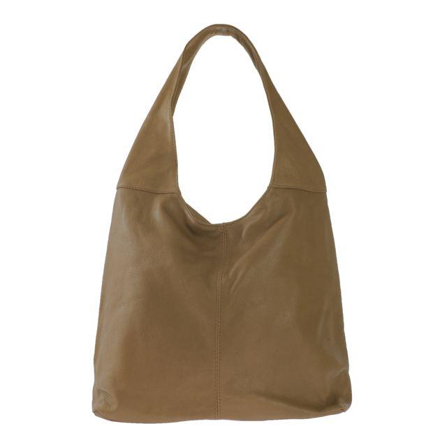 2cf6fcc6d4 Oh My Bag - Sac à main en cuir souple - pas cher Achat / Vente Sacs ...