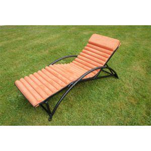 Jardin express transat de jardin en aluminium gym futon for Jardin express