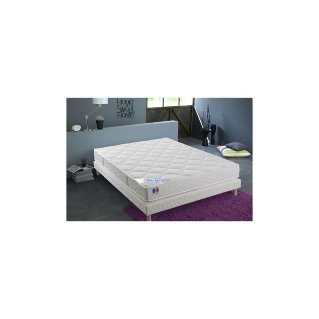 Confort Design Matelas 160 X 200 - Polylatex Et Mousse - 18 Cm - Ferme - Hotel Luxe