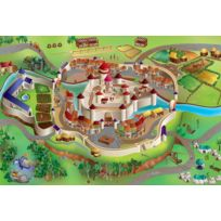 "House Of Kids - tapis de jeu ""chateau fort"