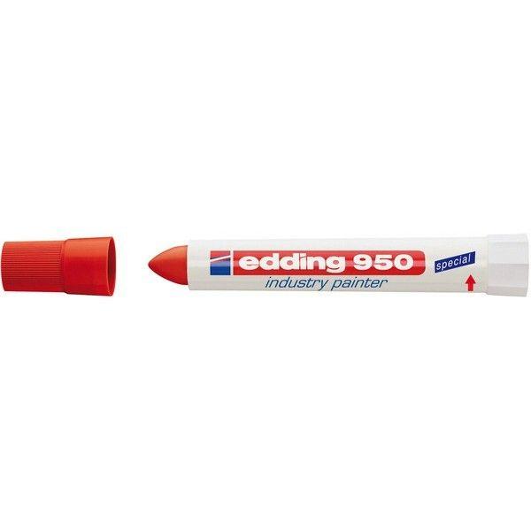 edding marqueur industriel 950 couleur rouge pas cher achat vente pointes tracer. Black Bedroom Furniture Sets. Home Design Ideas