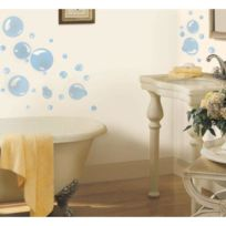 MonbeauSticker - Stickers Bulles De Savon Roommates Repositionnables 31 stickers