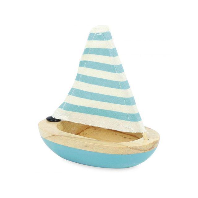 Vilac Petit voilier de bain bleu