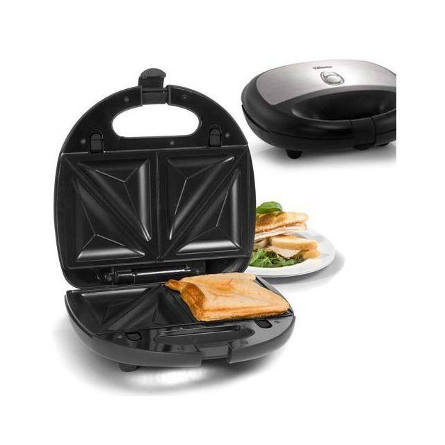 Totalcadeau Machine pour snack 3 en 1 - Croque Monsieur et Toaster