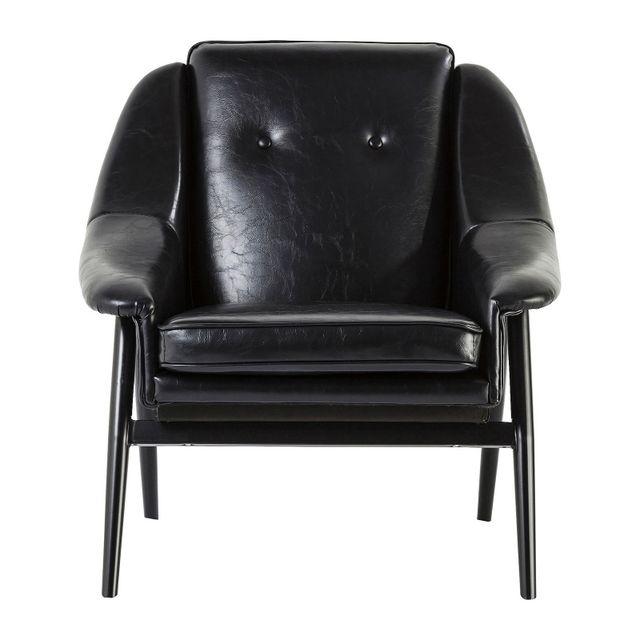 Karedesign Fauteuil Queens noir Kare Design