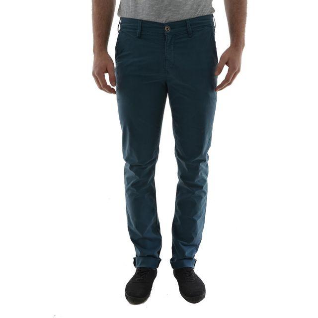 842bcda2567 Lee Cooper - Pantalons lee cooper garven 7336 garment dye leg 34 bleu