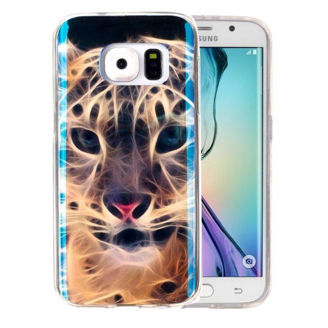coque galaxy s6 tigre