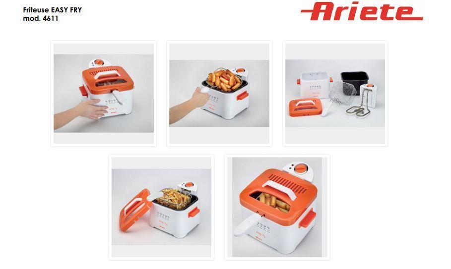 Friteuse Orange - 4611