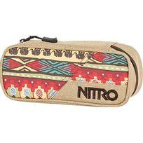 Nitro Snowboards - Nitro Trousse ÉTUI À Crayons - 20 X 8 X 6 Cm, 1 Litre, Polyester, Safari