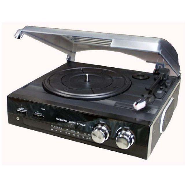 roadstar ttr 8633 tourne disque avec tuner analogique. Black Bedroom Furniture Sets. Home Design Ideas