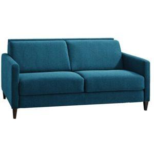 inside 75 canap convertible ouverture rapido oslo tissu microfibre bleu turquoise couchage. Black Bedroom Furniture Sets. Home Design Ideas