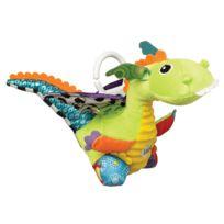 LAMAZE - Jouet de voyage bébé flip flap le dragon