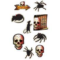 Amscan - Découpes de décoration Halloween x12