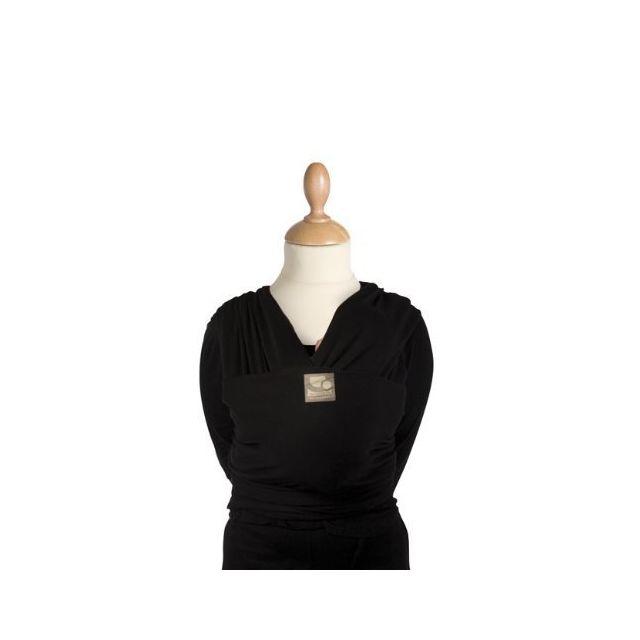 Babylonia - Écharpe de portage Tricot-Slen Bio Noir - pas cher Achat   Vente  Porte-bébés - RueDuCommerce 21b4ba37029
