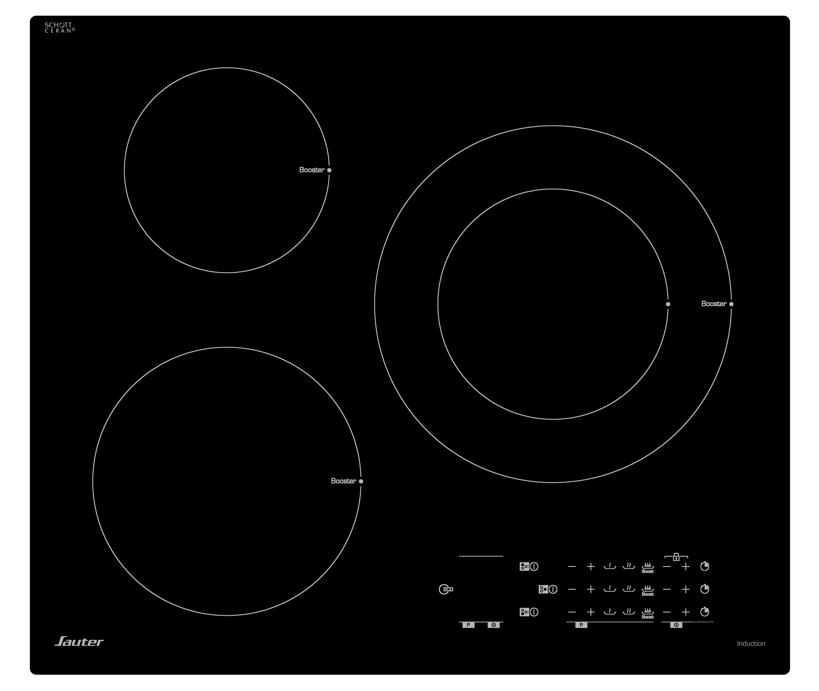 magasin d'usine 4b8dc 27320 Table de cuisson - SPI4361B