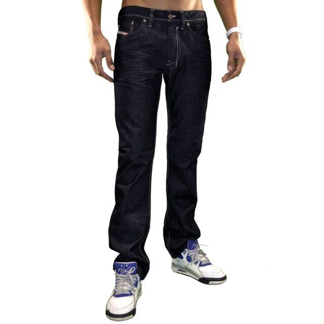 Diesel - Jeans Homme Safado 008z8 bleu brut