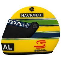 Ayrton Senna - Magnet Casque jaune