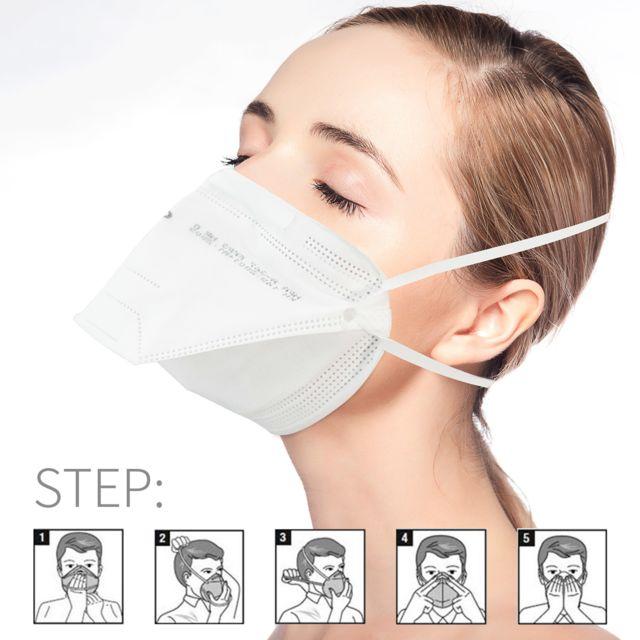 masque respiratoire anti virus ffp3
