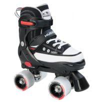Hudora - Roller Skate - Patins à Roulettes - Noir - Taille 36 -39
