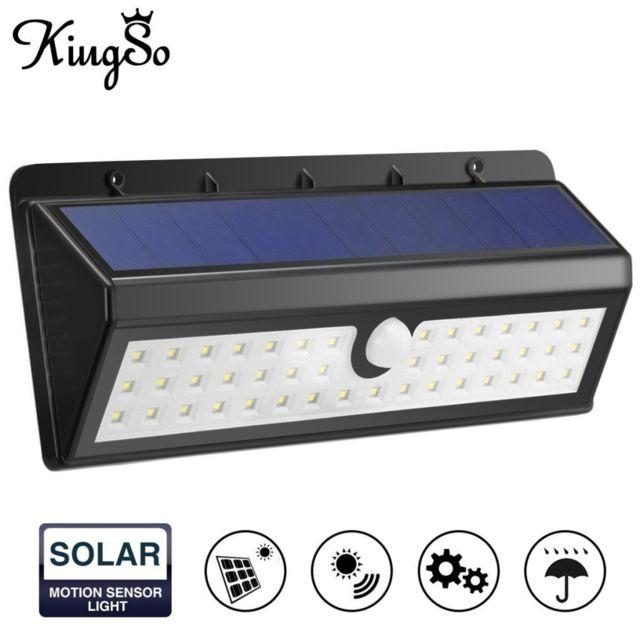 Détecteur De Projecteur Leds Éclairage Extérieur Mouvement D'applique Énergie Solaire Murale Lampe Fil 44 Sans À f6vYb7gyIm