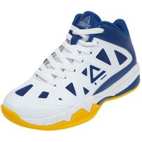 Peak - Chaussures basket Victoir j blc gold bleu Blanc 35183
