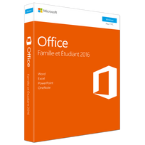 MICROSOFT - Office Famille & Etudiant 2016 PC