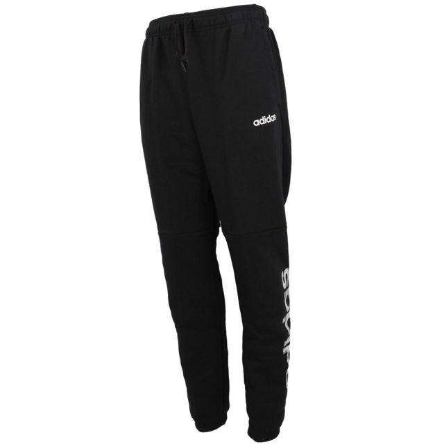 Adidas Pantalon de survêtement E camo lin black pant Noir