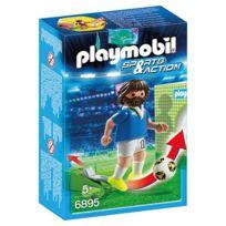 Playmobil - 6895 : Sports & Action : Joueur de foot Italien