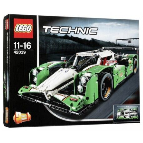 lego technic 42039 la voiture de course des 24h pas cher achat vente lego rueducommerce. Black Bedroom Furniture Sets. Home Design Ideas