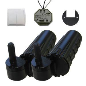 wimove double motorisation volet 1 battant droit uranus filaire gond 12 pas cher achat. Black Bedroom Furniture Sets. Home Design Ideas