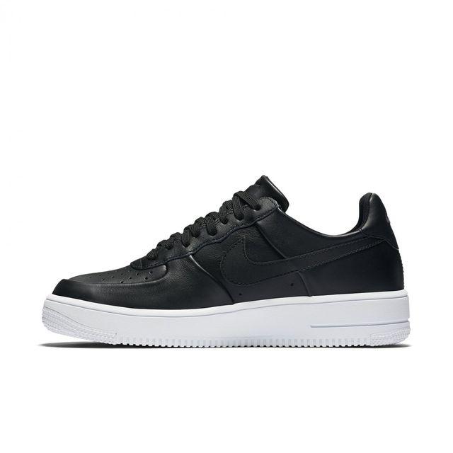 Nike Air Force 1 Ultraforce Mid 'Black Leather' (cuir noir)