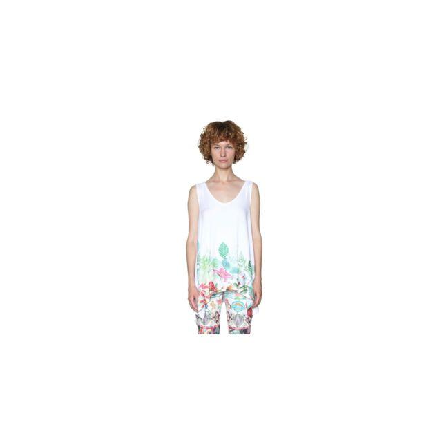 Clara Shirt T L Taille 18swtk19 Blanc iXOZTPku