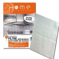 HOME EQUIPEMENT - Filtre graisse rectangulaire à découper pour Hotte - 95400/1