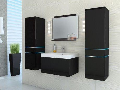 Meuble design led for Meuble salle de bain rue du commerce