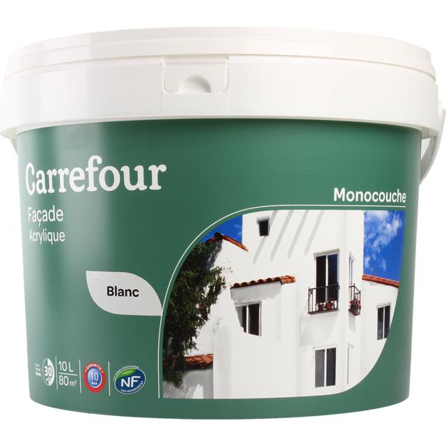 Carrefour Peinture Monocouche Façade 10l Pas Cher Achat